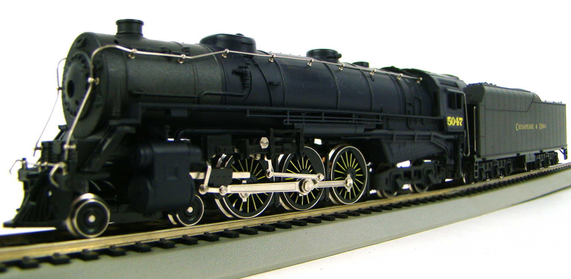 IHC Premier 23005 C&O 4-6-4 Hudson Locomotive HO Scale