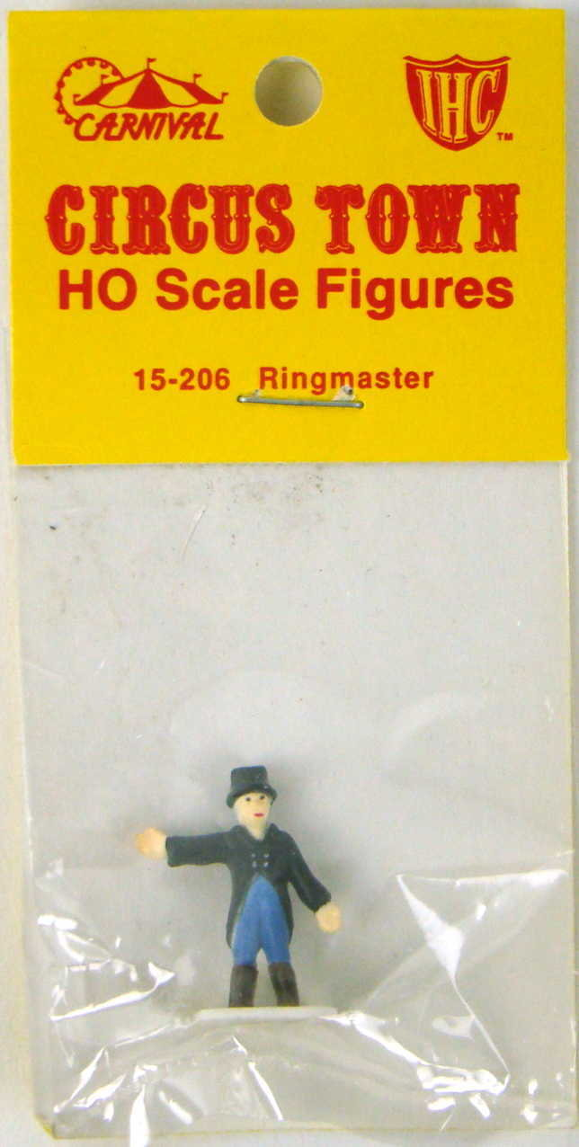 IHC 15-205 Circus Town Ringmaster Figure HO Scale