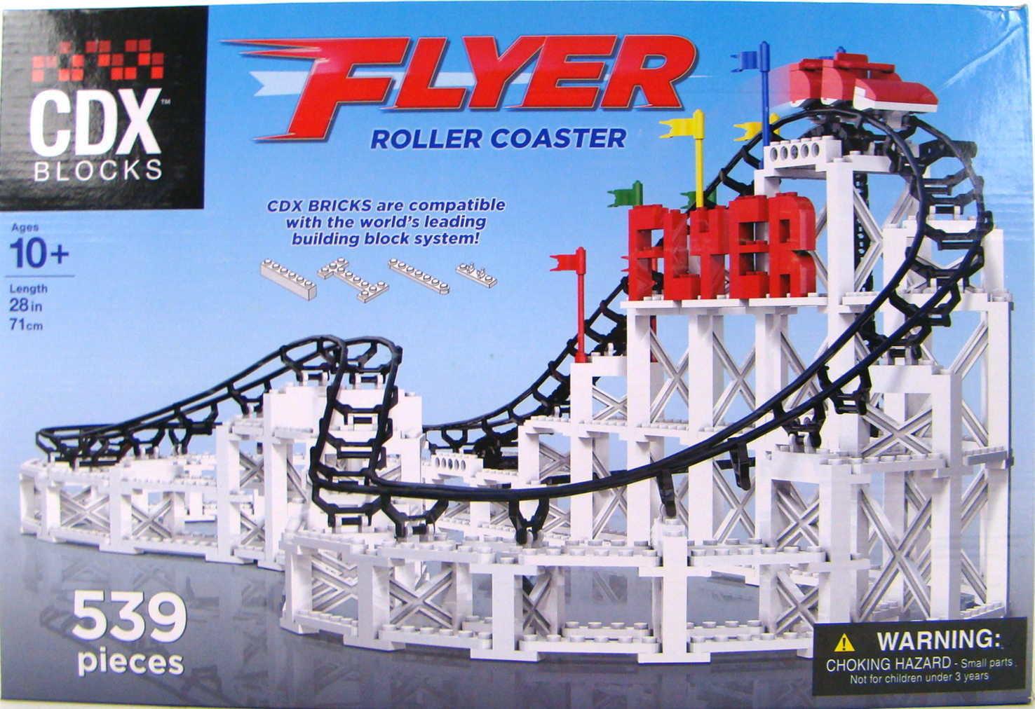 Coaster Dynamix Lego®-Compatible CDX Block