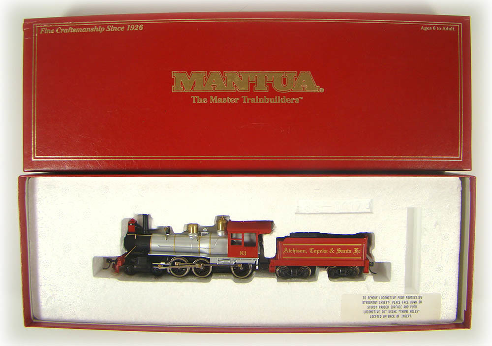 Mantua 395-001 Limited Edition Rogers AT&SF 4-6-0 Ten Wheeler ... on
