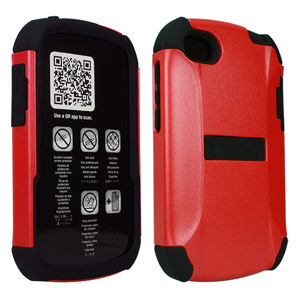 Trident Red Aegis Case - Blackberry Q10