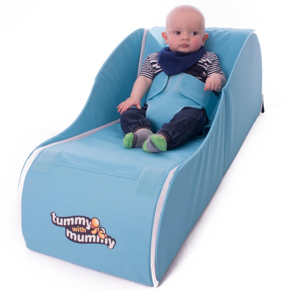 Brand New Aqua Tummy with Mummy Foldaway Baby Chair