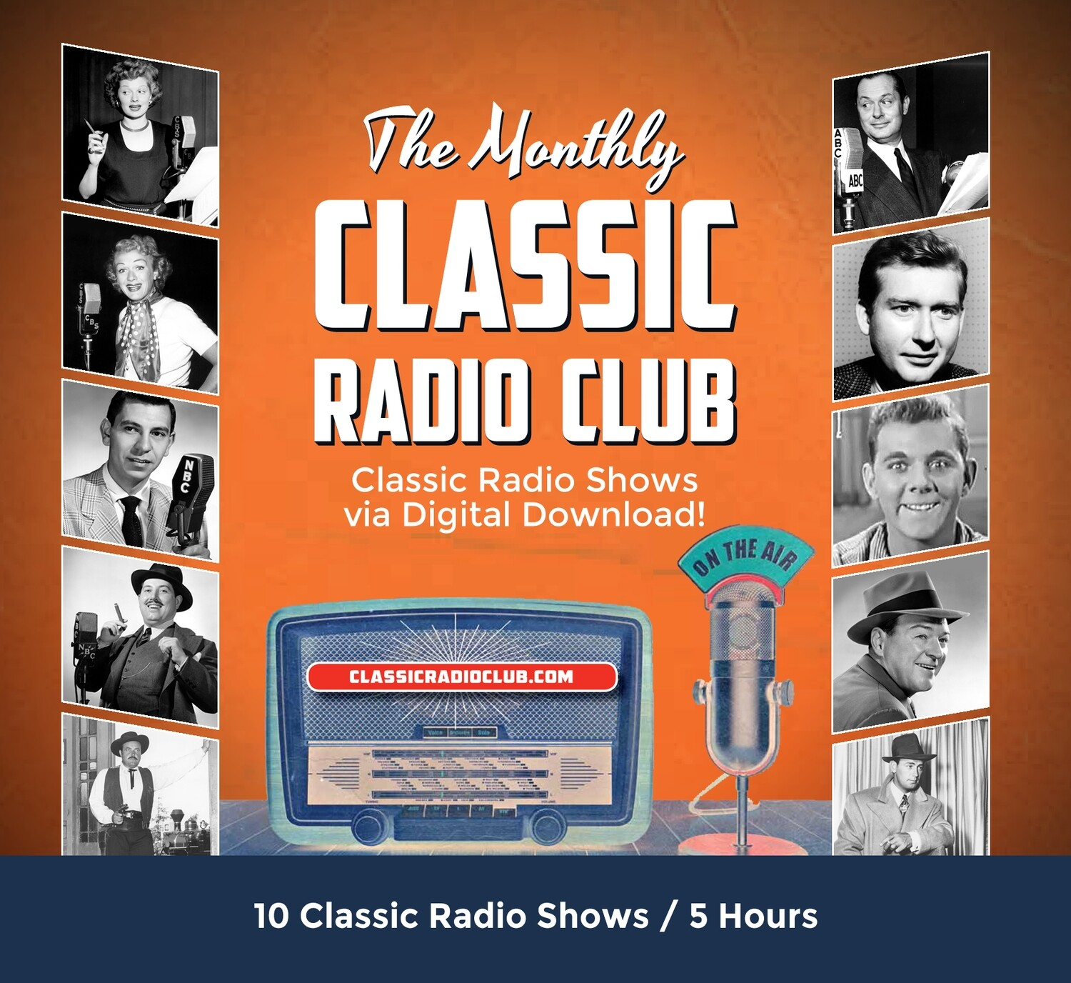 Classic Radio Club Past Release #3 (Digital Download only)
