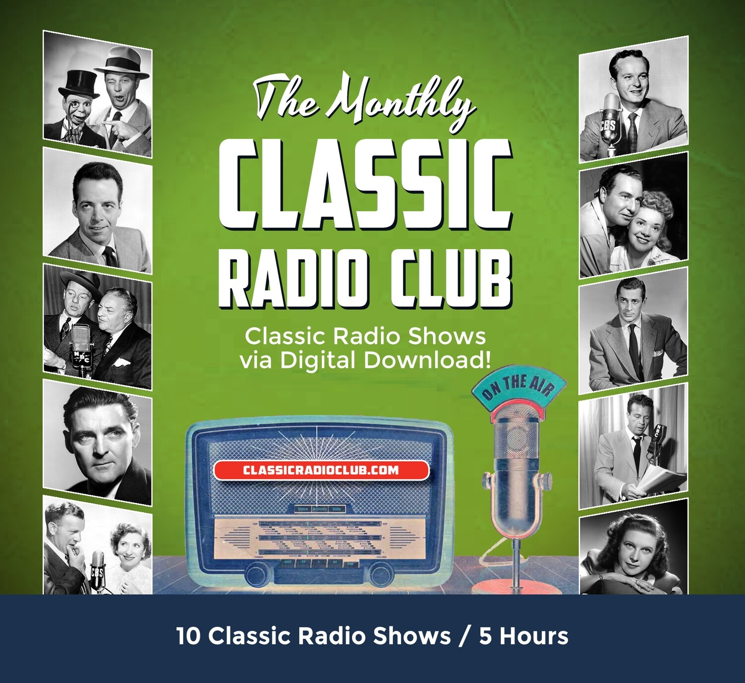 Classic Radio Club Past Release #2 (Digital Download only)