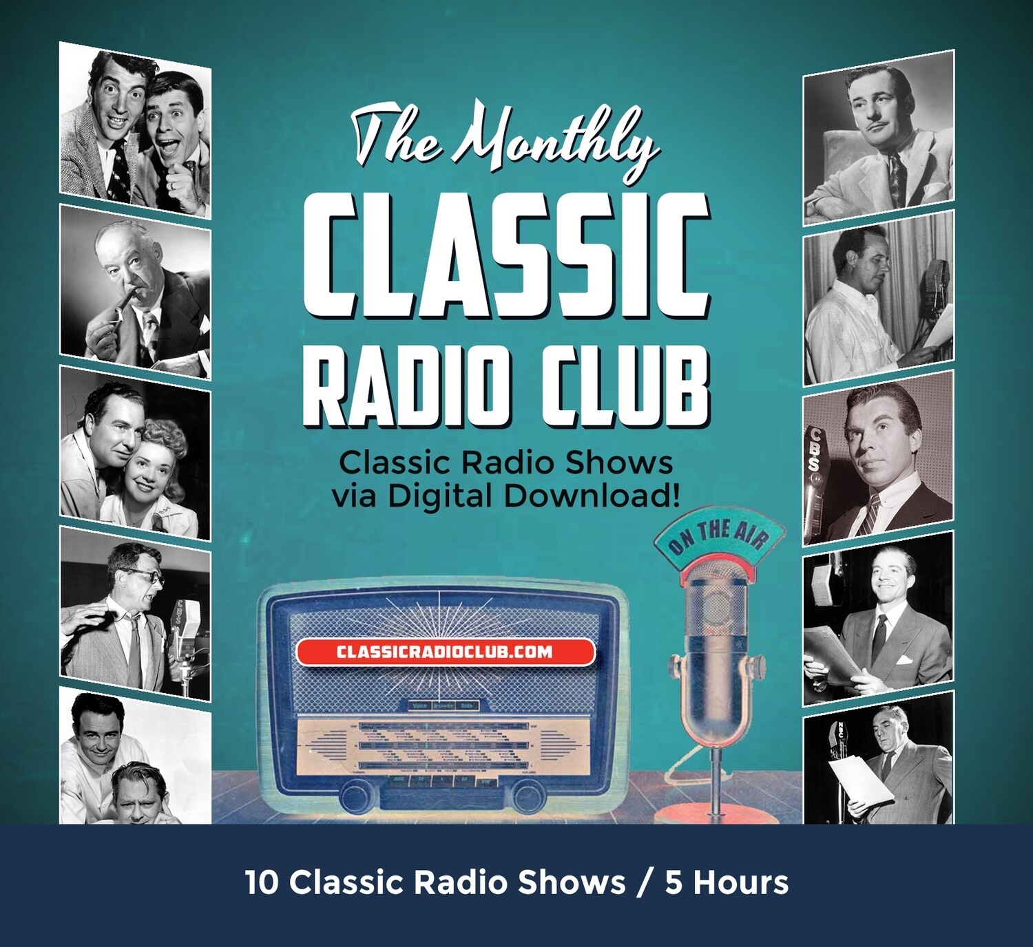Classic Radio Club Past Release #7 (Digital Download only)