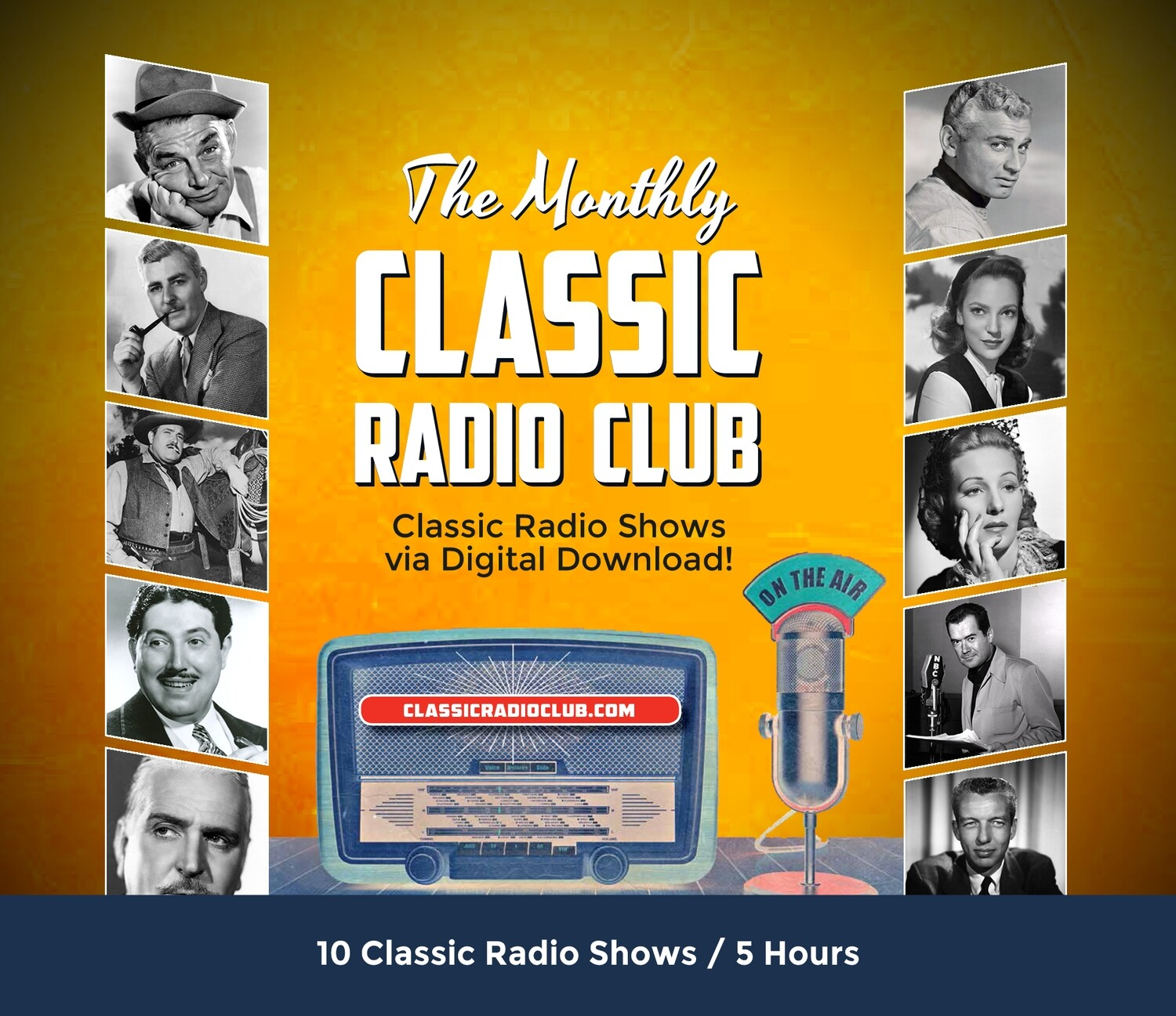 Classic Radio Club Past Release #9 (Digital Download only)