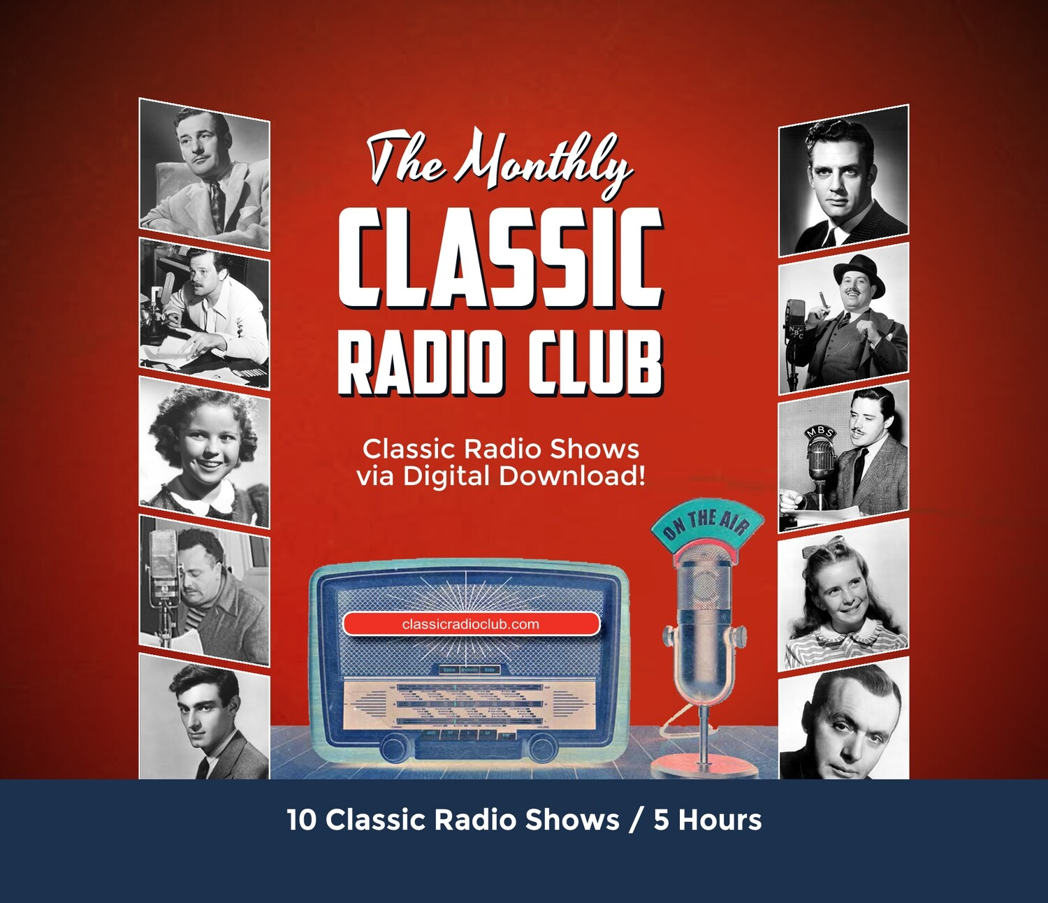 Classic Radio Club Past Release #11 (Digital Download only)