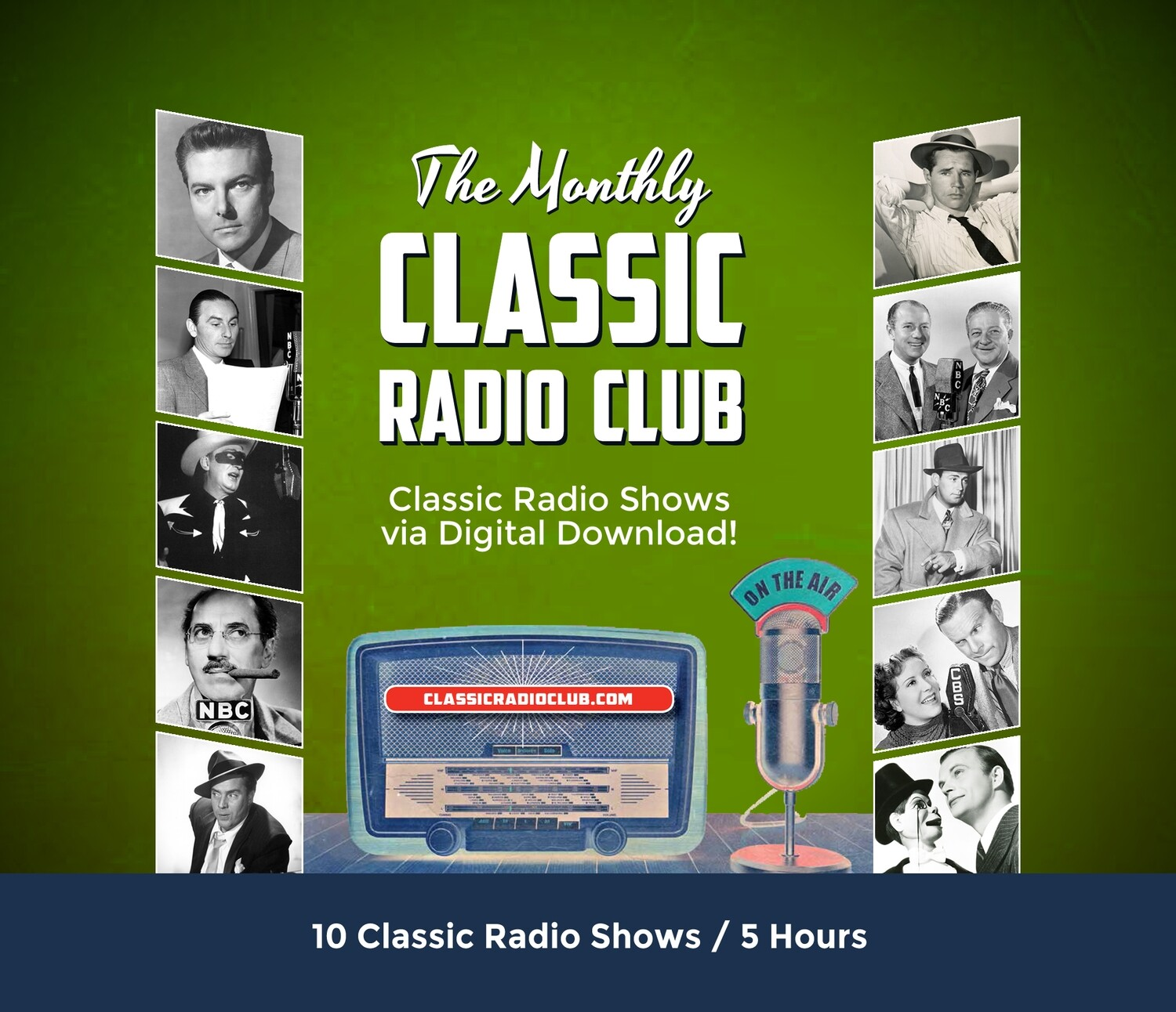 Classic Radio Club Past Release #14 (Digital Download only)