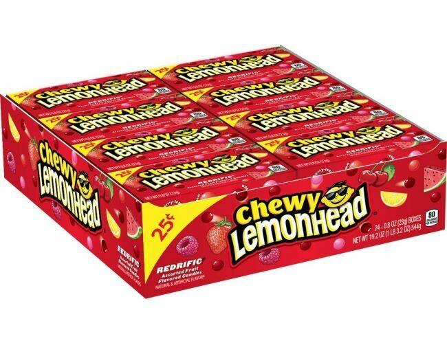 Lemonhead Chewy Fruit Mix Small 24ct