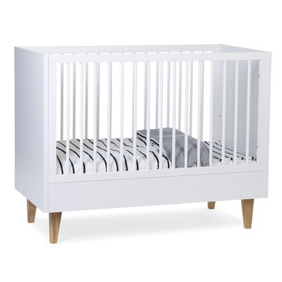 Childhome LALANDE WHITE BABYBETT 60X120