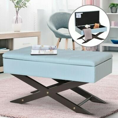 HOMCOM® Sitzbank mit Stauraum Aufbewahrungsbox Polsterbank