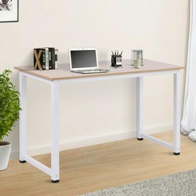 HOMCOM® Schreibtisch Computertisch Bürotisch Weiss