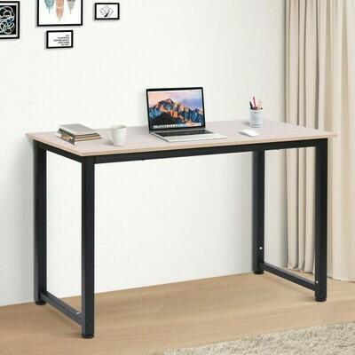 HOMCOM® Schreibtisch Computertisch Bürotisch Schwarz