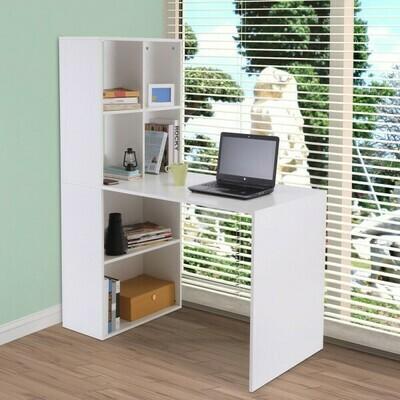 Vinsetto Schreibtisch Computertisch Bürotisch Weiss