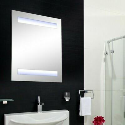 HOMCOM® LED Spiegelschrank Badspiegel Badschrank 15W