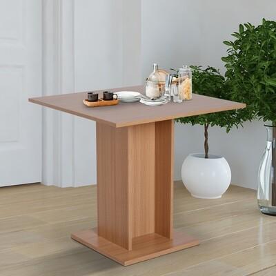 HOMCOM® Esstisch Küchentisch Esszimmertisch Holztisch Bistrotisch rechteckig Holz Natur