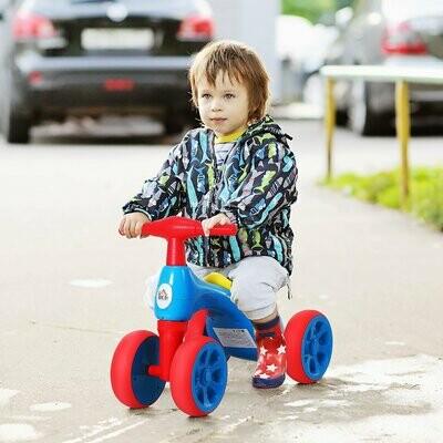 """HOMCOM® Laufrad Lauffahrrad Balance Bike 18-36 Monate """"BB"""" -Klang Ruhig & Sicher PP Blau 57 x 33,5 x 42,5 cm"""