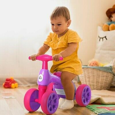 """HOMCOM® Laufrad Lauffahrrad Balance Bike 18-36 Monate """"BB"""" -Klang Ruhig & Sicher PP Lila 57 x 33,5 x 42,5 cm"""