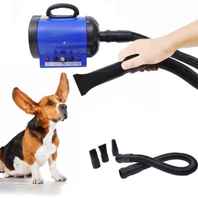 PawHut® Profi Hundefön Tierfön Pet Dryer Hundetrockner 2400W Blau