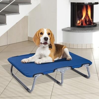 PawHut® Hundeliege Hundebett Katzenbett Schlafplatz faltbar Blau