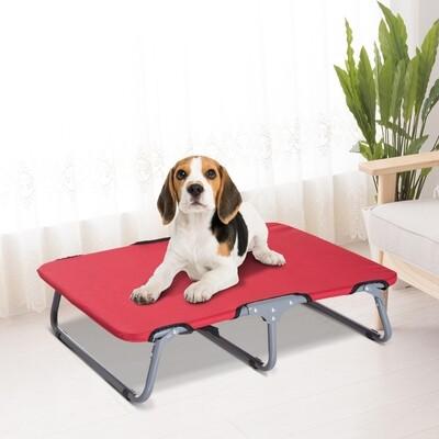 PawHut® Hundeliege Hundebett Katzenbett Schlafplatz faltbar Rot
