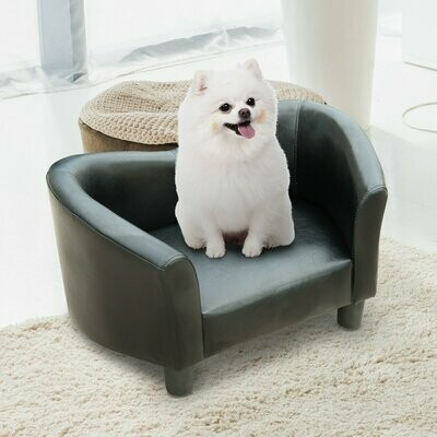 PawHut® Luxus Hundesofa Katzensofa Sofa Hundecouch Couch Hundebett Kunstleder