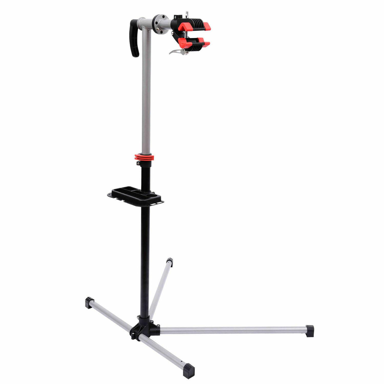 HOMCOM® Velo Fahrrad Montageständer Reparaturständer mit Werkzeugablage