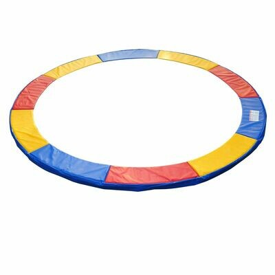 HOMCOM® Trampolin-Randabdeckung | PVC PE | Ø244 cm | Bunt