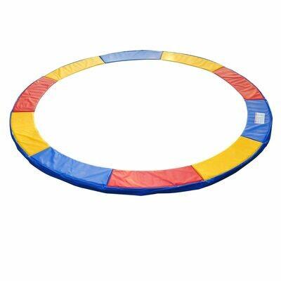 HOMCOM® Trampolin-Randabdeckung | PVC PE | Ø366 cm | Bunt