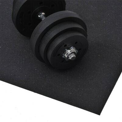 HOMCOM® Bodenschutzmatte für Fitnessgeräte Unterlegmatte 220x110cm
