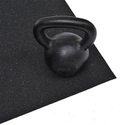 HOMCOM® Bodenschutzmatte für Fitnessgeräte Multifunktionsmatte 140x80cm