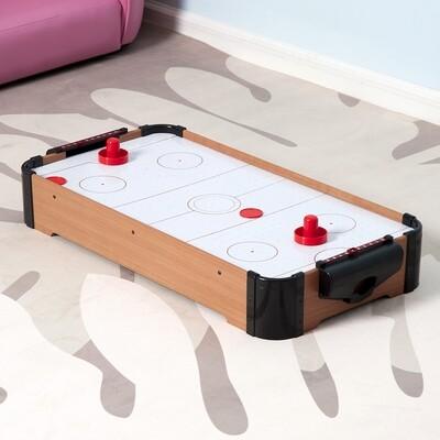 HOMCOM® Mini Airhockey Tisch mit Zubehör 69x37cm