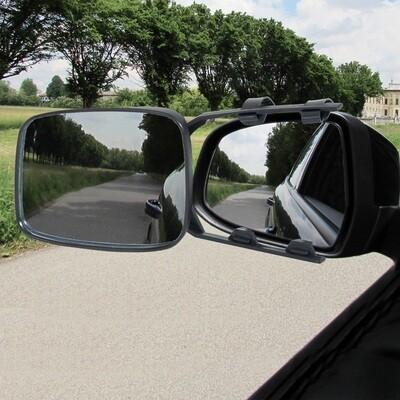 HOMCOM® Wohnwagenspiegel Caravanspiegel Universal 2 Stück