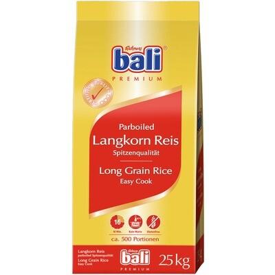 Grosspackung Bali Langkornreis Parboiled 25 kg