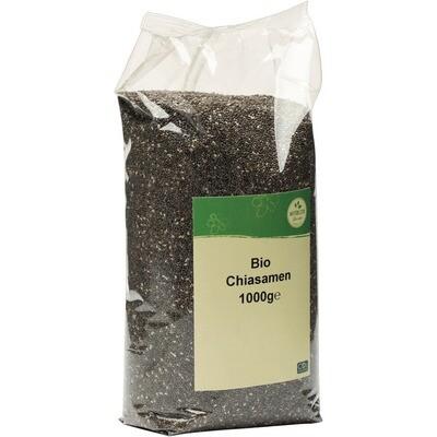 Grosspackung natürlich für uns Bio Chiasamen 10 x 1 kg = 10 kg