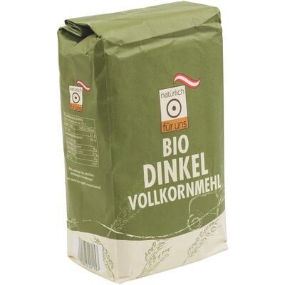 Grosspackung natürlich für uns Bio Dinkel Vollkornmehl 10 x 1 kg = 10 kg