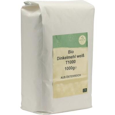 Grosspackung natürlich für uns Bio Dinkelweissmehl  10 x 1 kg = 10 kg