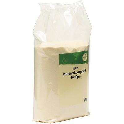 Grosspackung natürlich für uns Bio Hartweizengrieß 10 x 1 kg = 10 kg