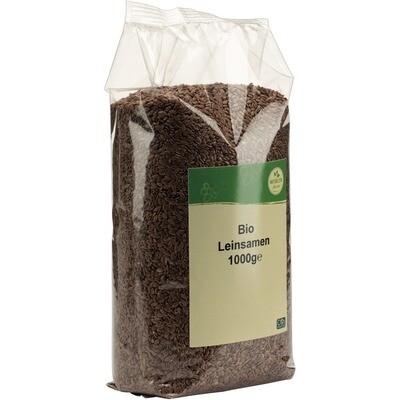 Grosspackung natürlich für uns Bio Leinsamen 10 x 1 kg = 10 kg