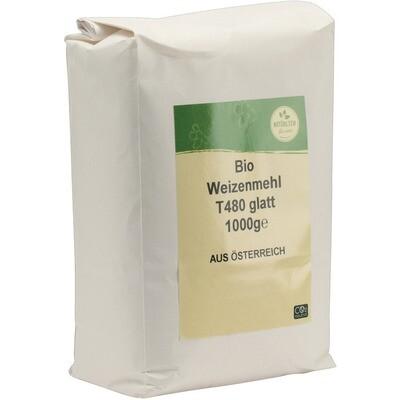 Grosspackung natürlich für uns Bio Weizenmehl glatt Type 480 10 x 1 kg = 10 kg