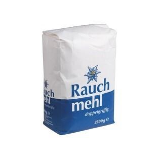 Grosspackung  Rauch Mehl doppelgriffig Type 480 4 x 2,5 kg = 10 kg