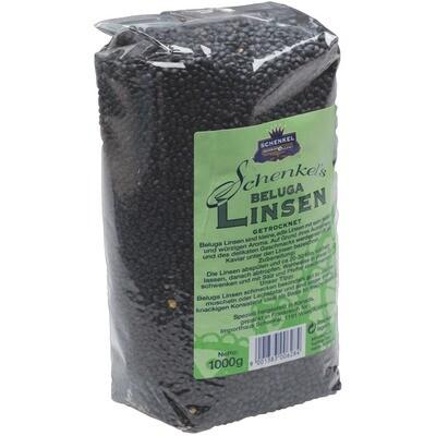 Grosspackung Schenkel Belugalinsen 10 x 1 kg = 10 kg
