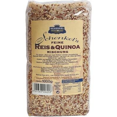 Grosspackung Schenkel Reis und Quinoa Mischung 10 x 1 kg = 10 kg