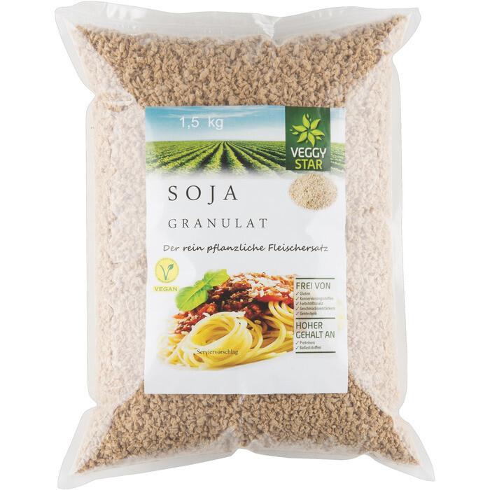 Grosspackung Veggy Star Soja Granulat 8 x 1.5 kg = 12 kg