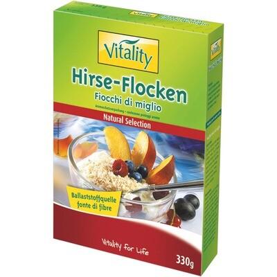 Grosspackung Vitality Hirseflocken 6 x 330 g = 1.98 kg