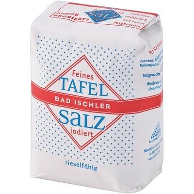 Grosspackung Bad Ischler Tafelsalz jodiert 20 x 500 g = 10 kg