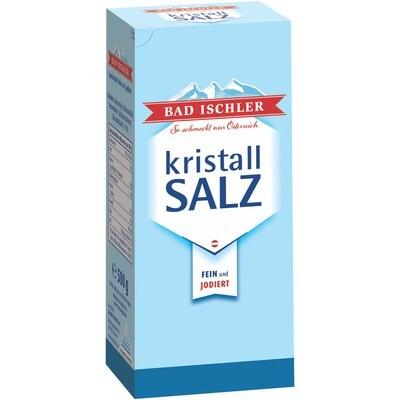 Grosspackung Bad Ischler Kristallsalz jodiert 16 x 500 g = 8 kg