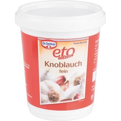 Grosspackung Dr. Oetker Knoblauch fein 12 x 1 kg = 12 kg