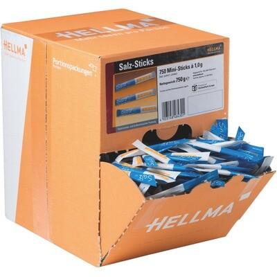 Grosspackung Hellma Salzsticks 750 Stk., 1 g 1 Krt.