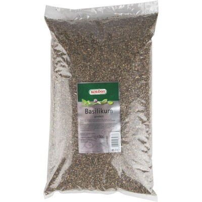 Grosspackung Kotanyi Basilikum gerebelt Beutel 1 kg